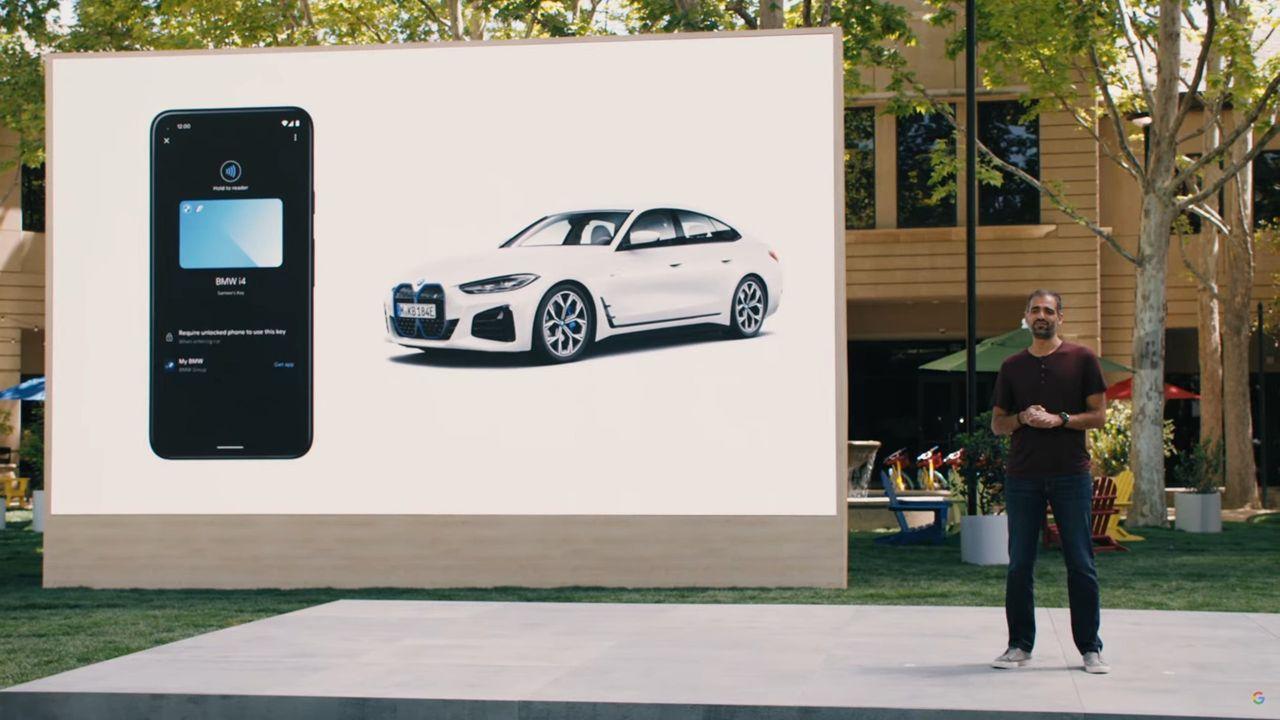 Android 12 fixar stöd för digitala bilnycklar