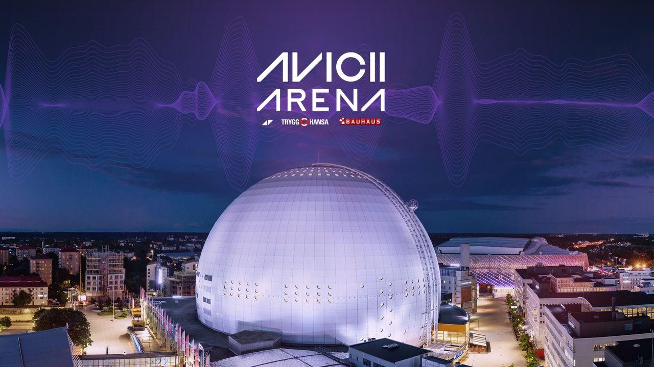 Globen byter namn till Avicii Arena