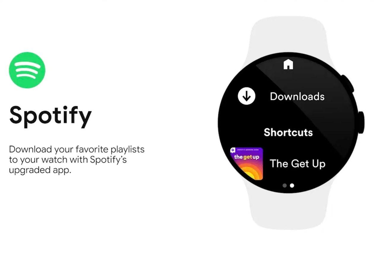 Snart kan man ladda ner Spotify-låtar till Wear OS