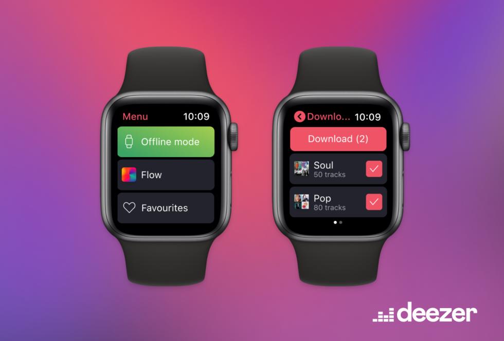 Deezer fixar offline-stöd till Apple Watch
