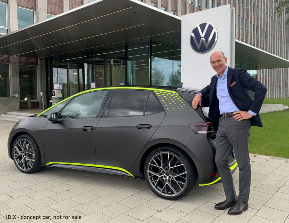 VW-chef visar upp Volkswagen ID.3 X