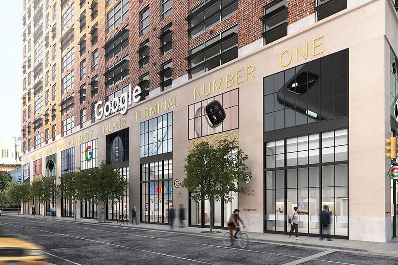 Google ska öppna fysisk butik