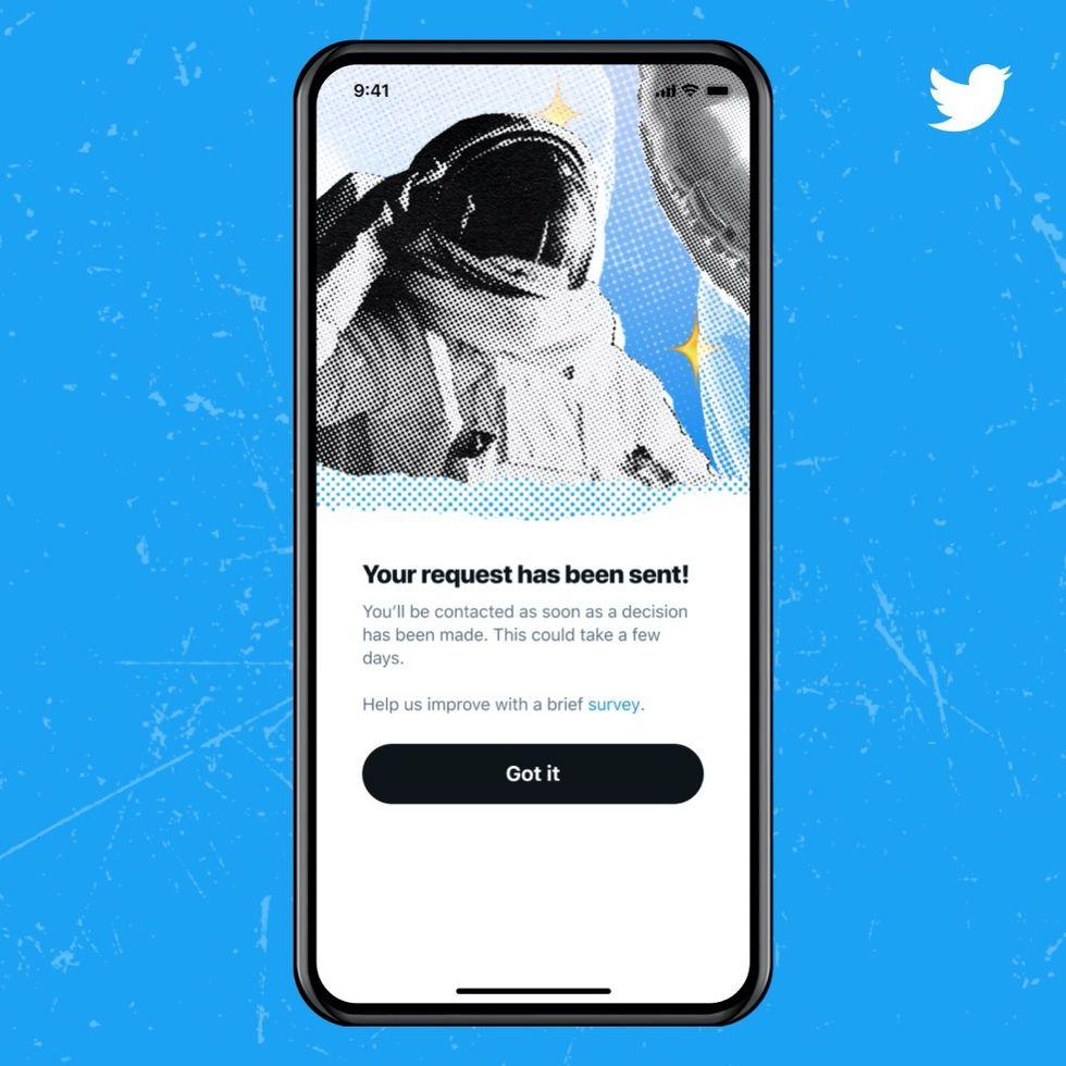 Nu kan du ansöka om att bli verifierad på Twitter igen