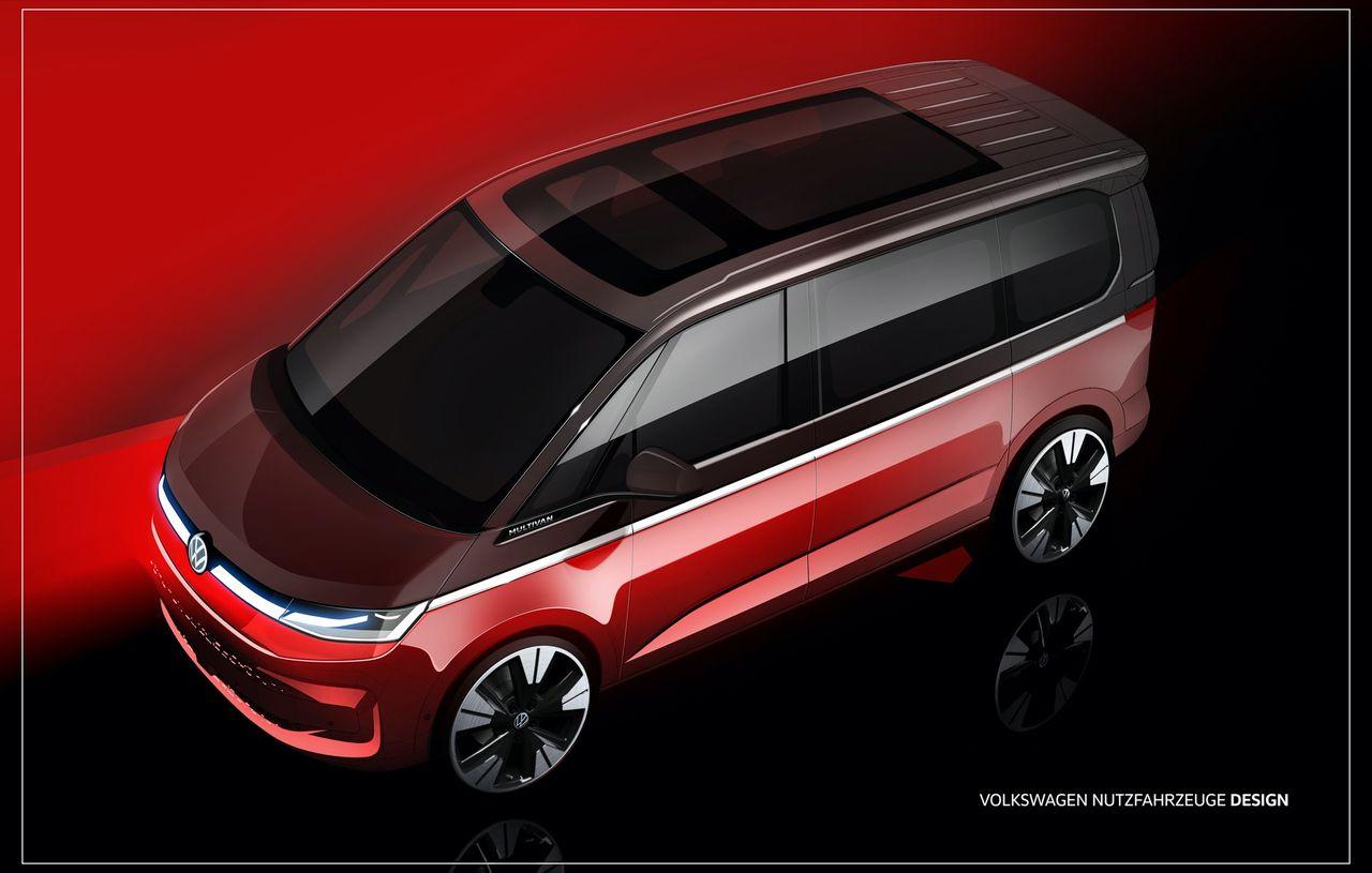 Volkswagen visar upp lite mer av nästa folkabuss