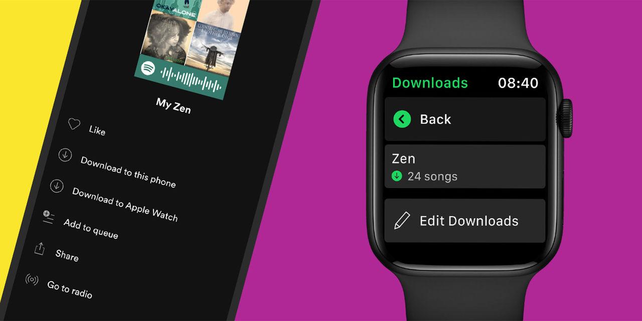 Spotify fixar offlinestöd till Apple Watch