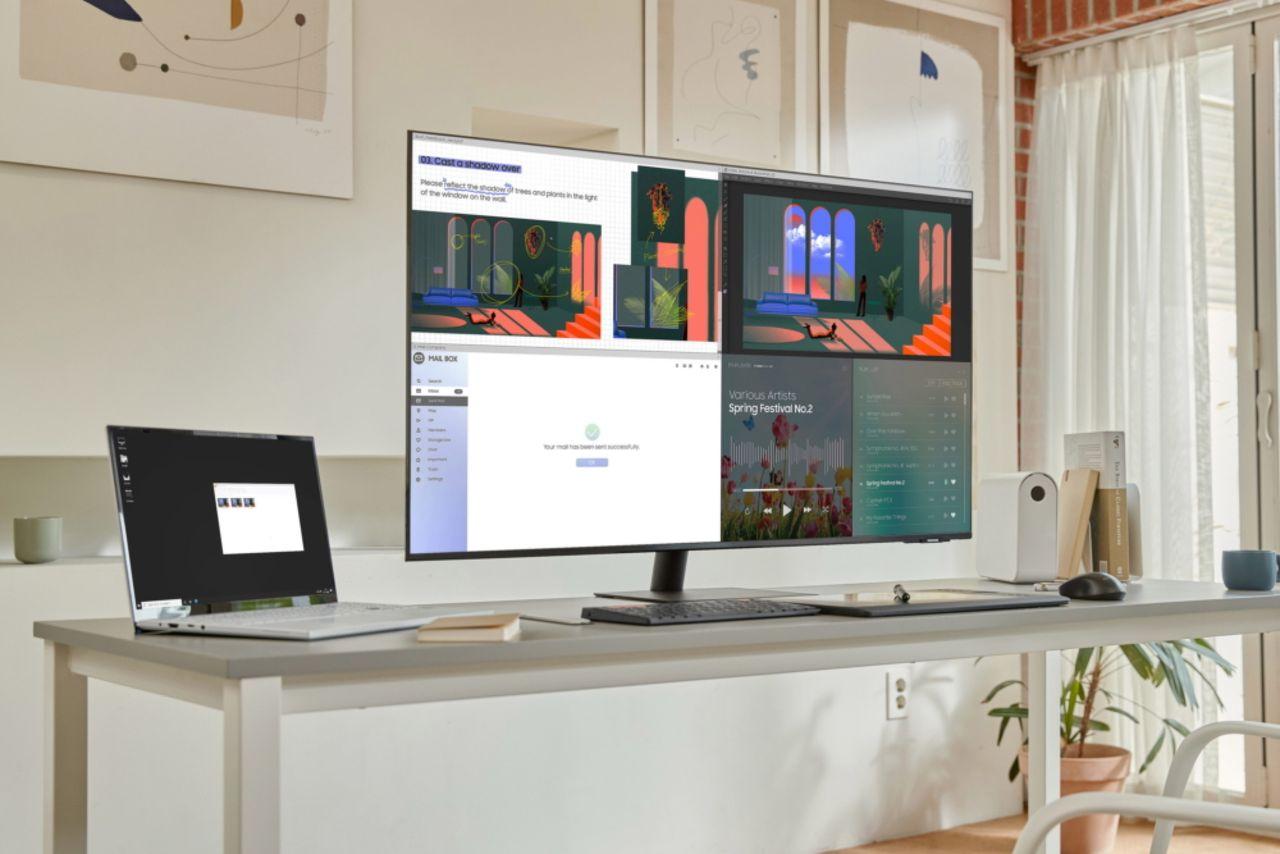 Samsungs smarta datorskärm i fler storlekar