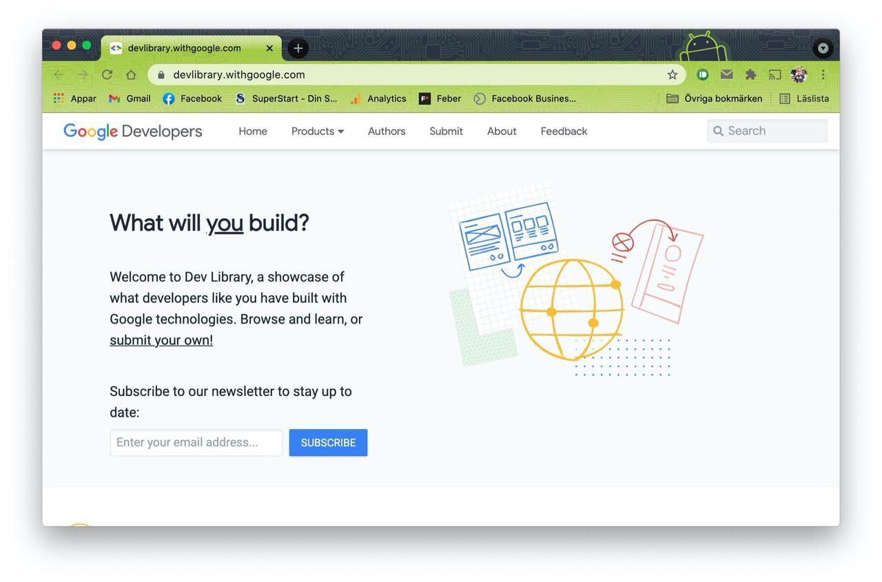 Google startar utvecklarsajten Dev Library