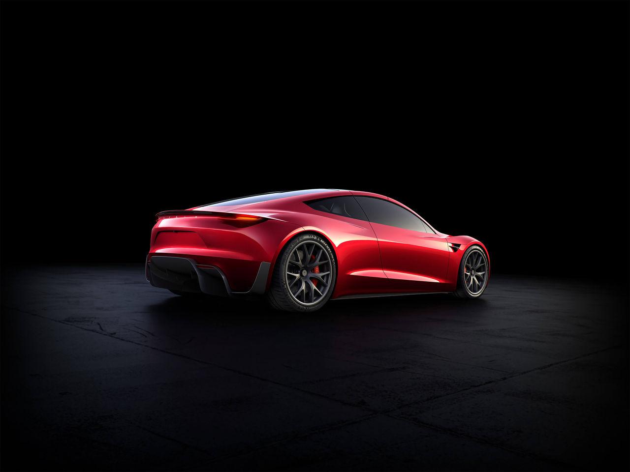 Elon Musk påstår att Tesla Roadster klarar 0-100 på 1,1 sekund