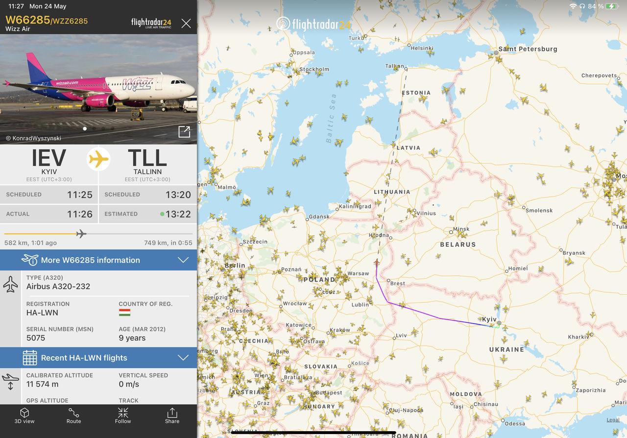 Flygbolag har börjat undvika att flyga över Belarus