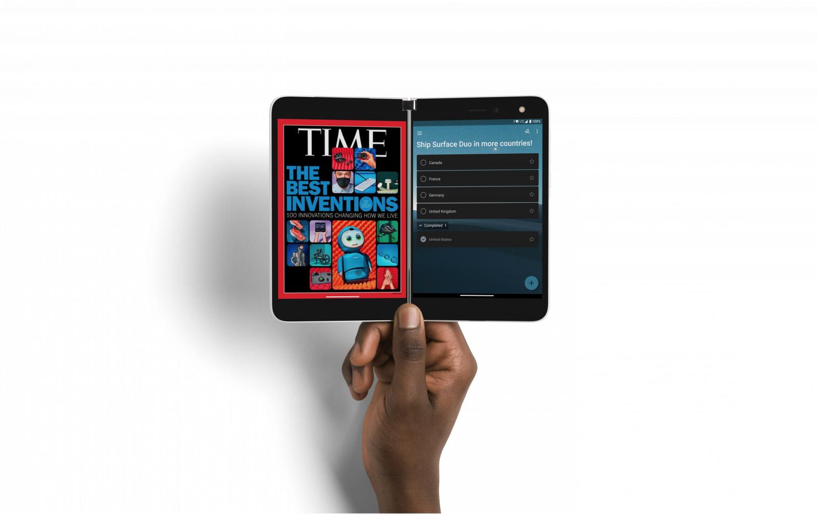 Microsoft gör Surface Duo till en Xbox-mobil Använder andra skärmen som pekkontroll