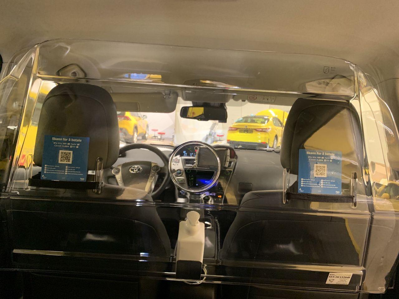 Ny lösning för att betala med QR-kod i taxi