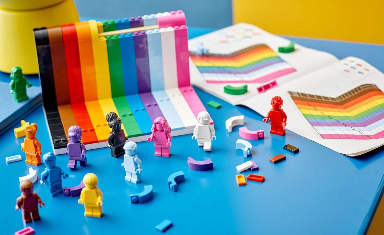 Lego släpper HBTQ-byggsats