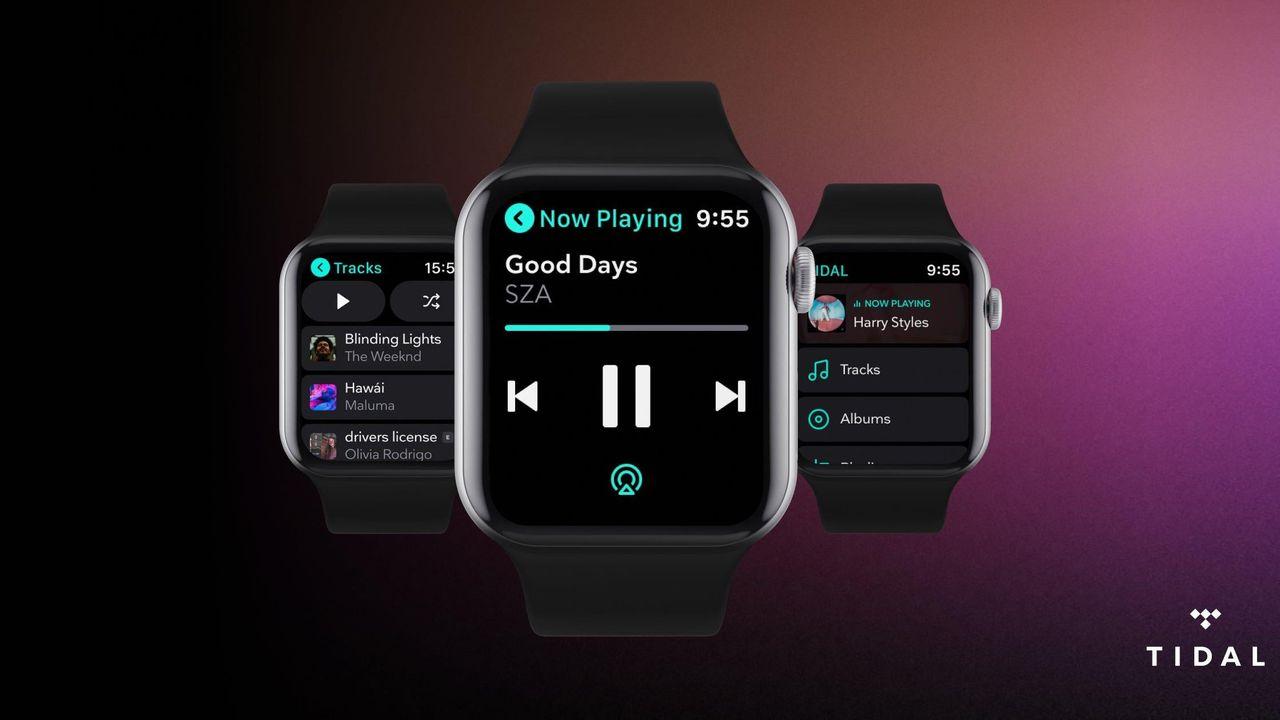 Tidal släpper app till Apple Watch