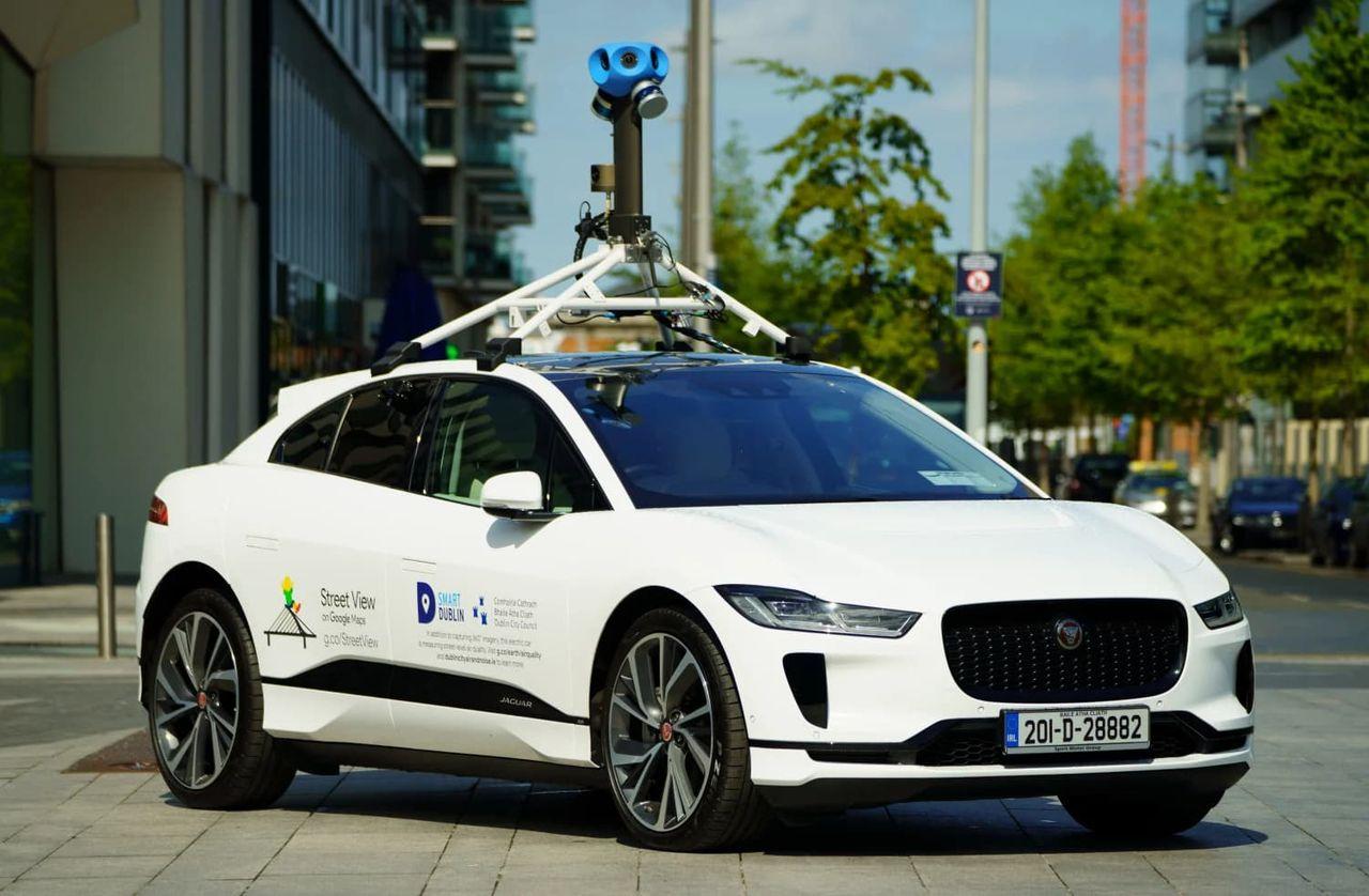 Google visar upp ny variant av Street View-bil
