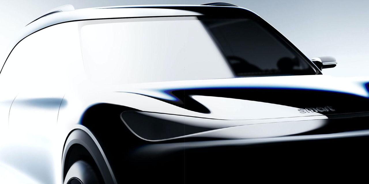 Nästa Smart blir en SUV