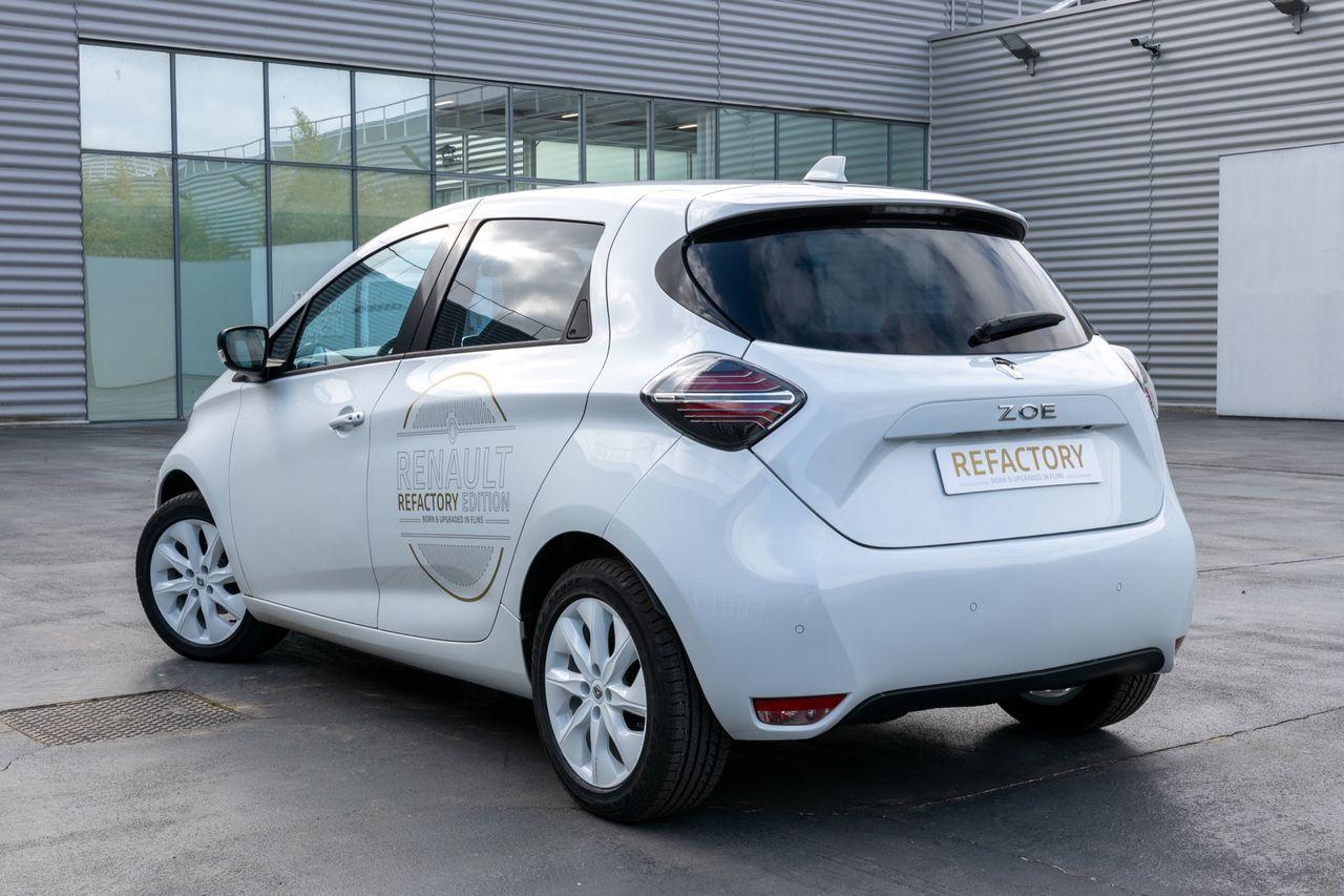 Renault fräschar till gamla Zoe