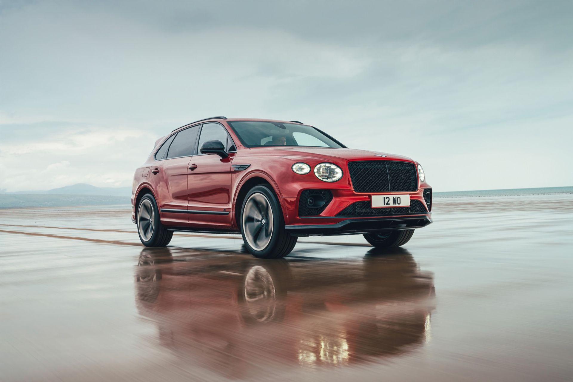 Bentley släpper sportigare version av Bentayga