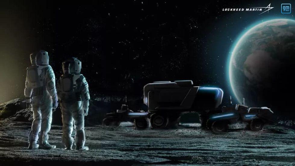 GM och Lockheed Martin ska designa månfordon åt NASA