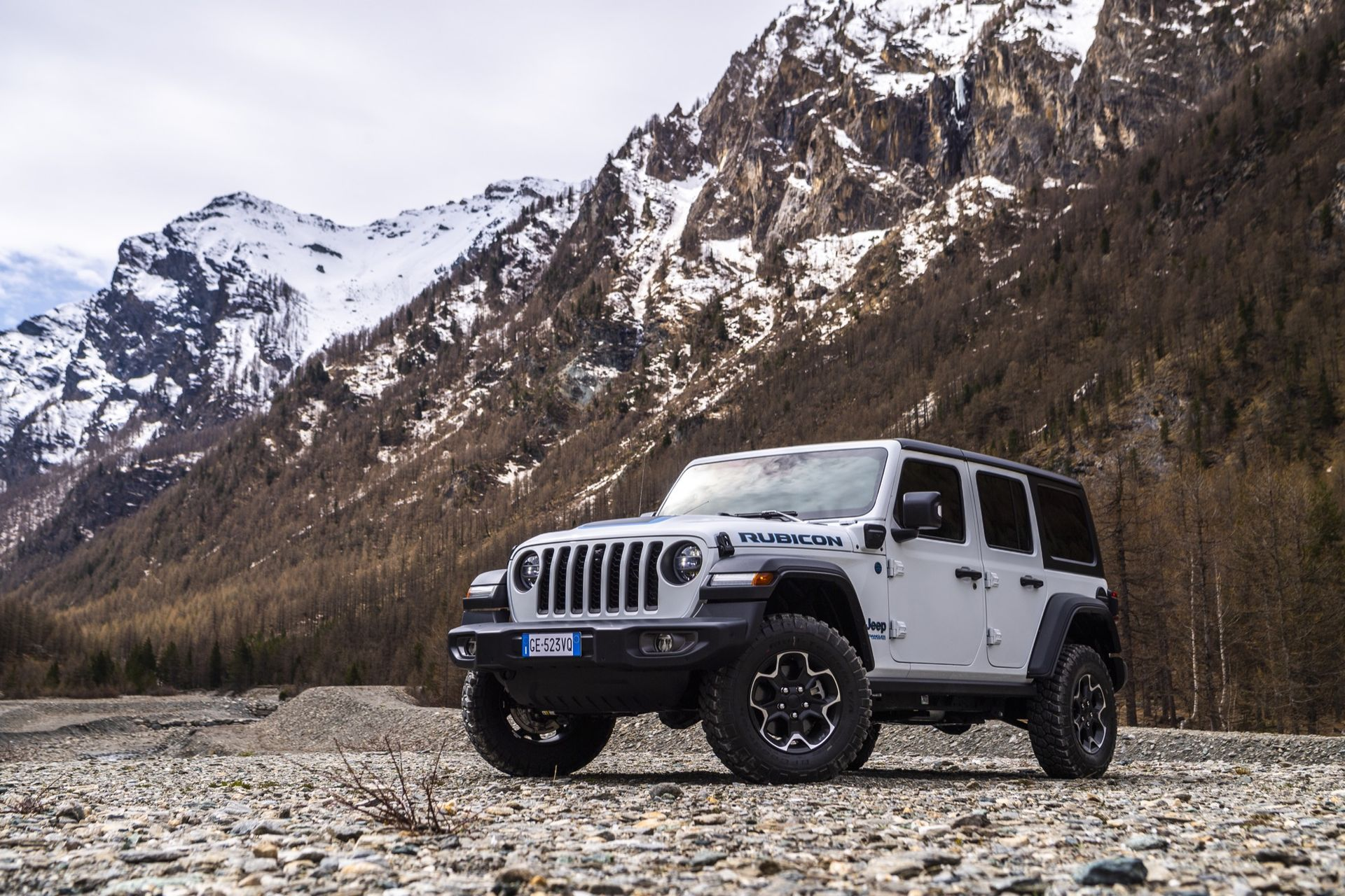 Nu finns Jeep Wrangler som laddhybrid