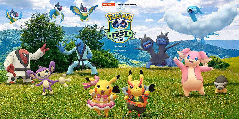 Pokémon Go Fest 2021 fokuserar på musik
