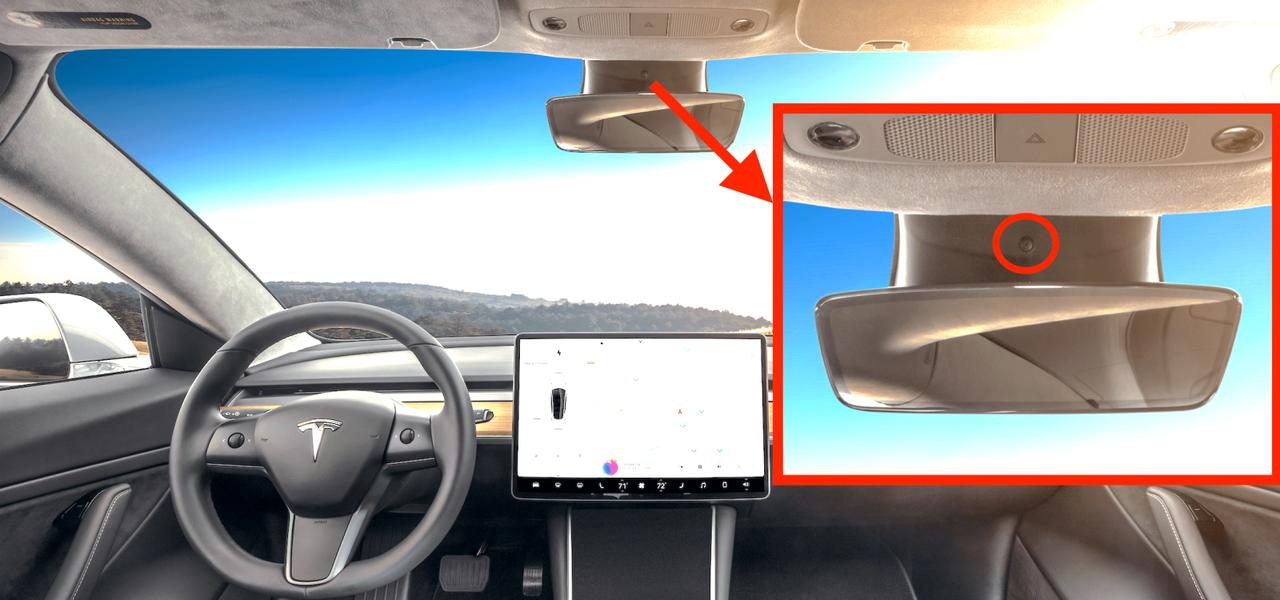 Nu börjar Tesla kameraövervaka förarsätet