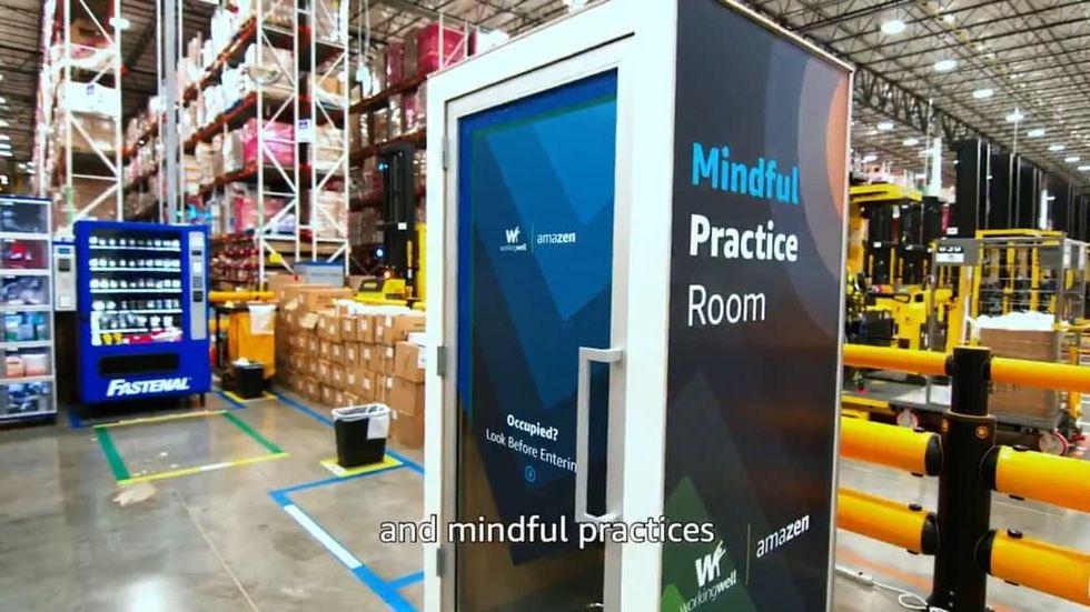 Amazon lanserar AmaZen Booth för sina arbetsplatser