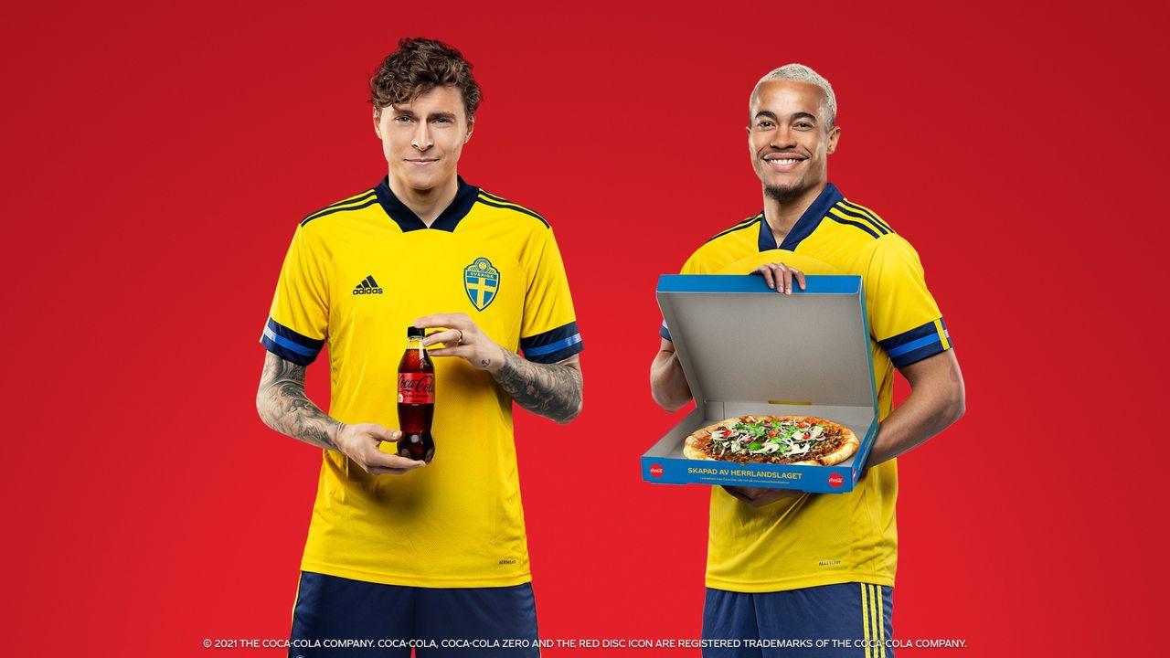 Det här är den officiella pizzan för fotbolls-EM
