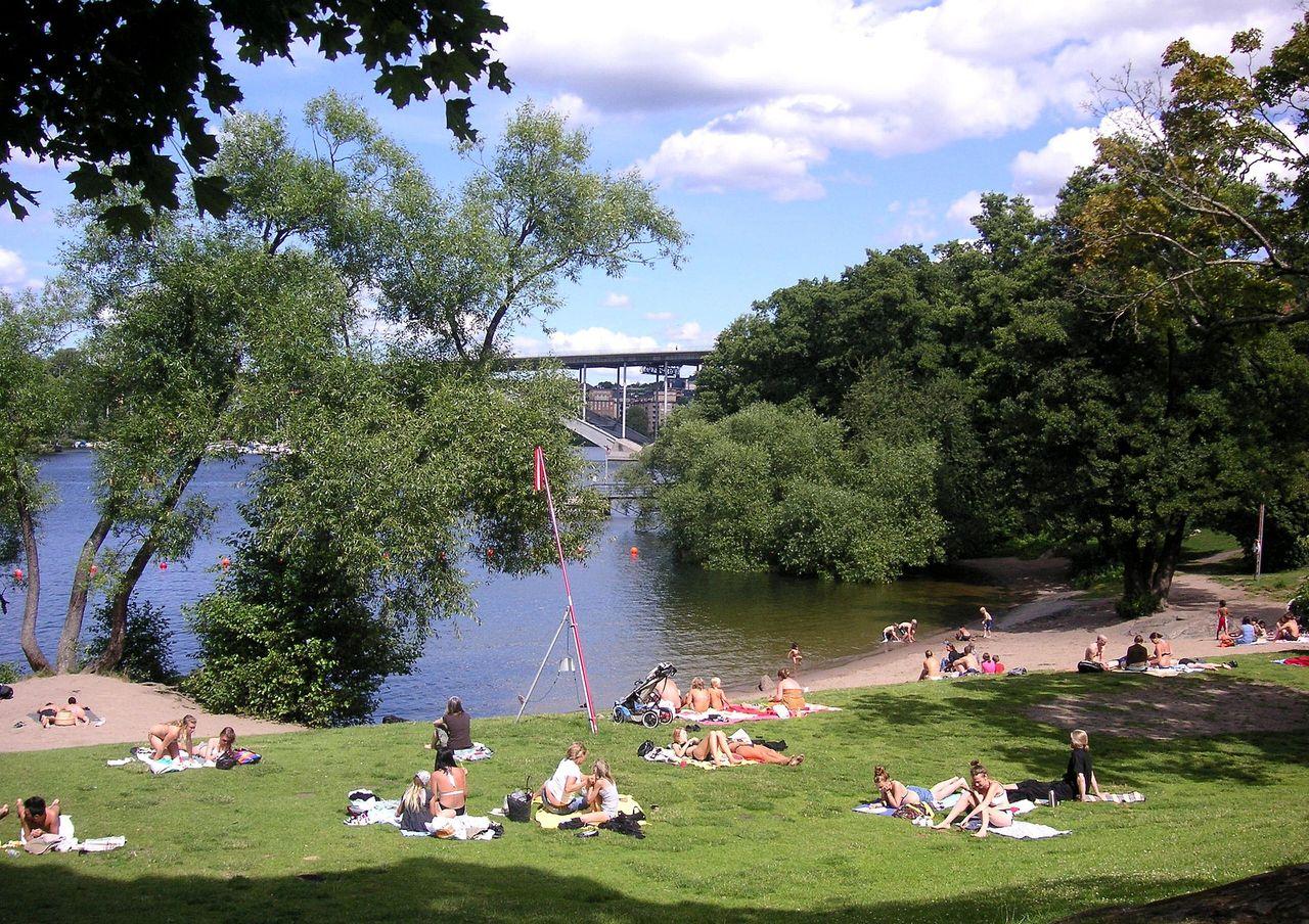 Stockholm varnar stockholmare för bajsvatten