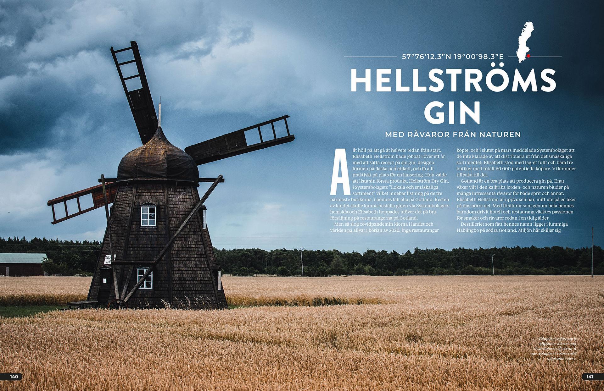 Ny bok om svensk gin