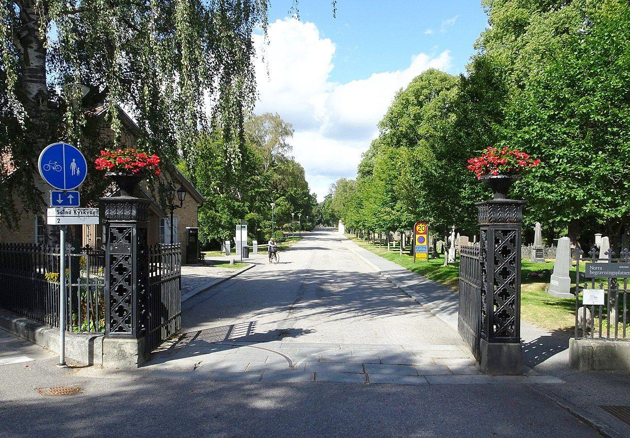 Radar ska övervaka kyrkogård utanför Stockholm
