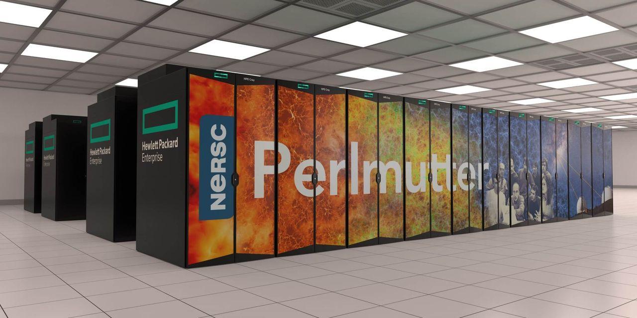 Perlmutter är världens snabbaste superdator för AI