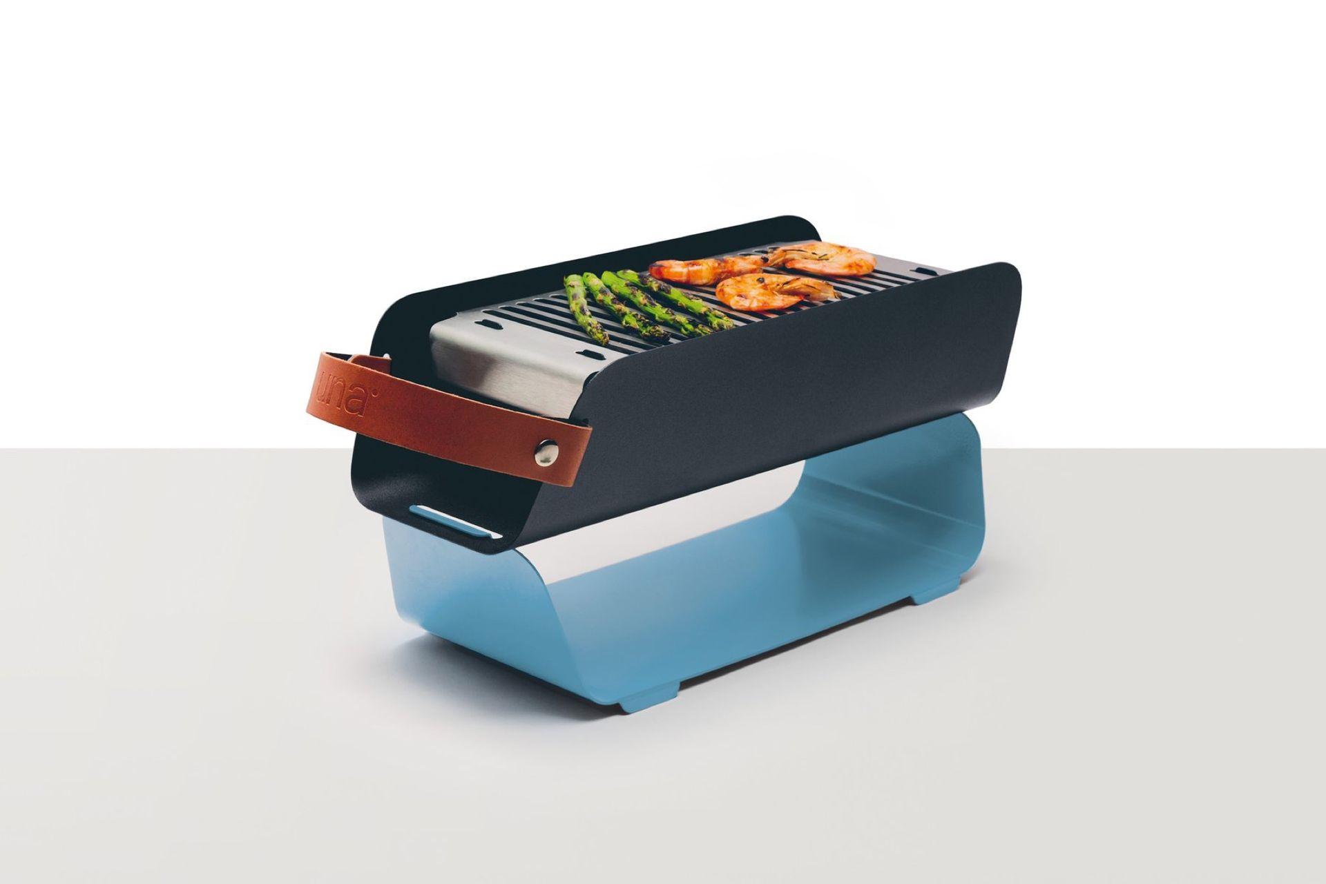 Portabel grill med stil