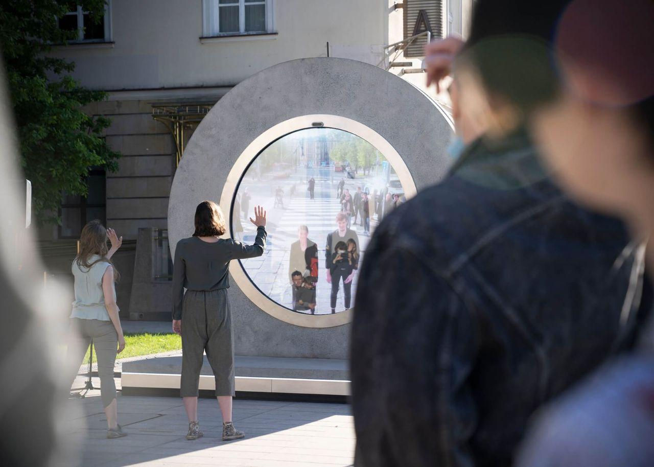 Vilnius och Lublin öppnar en portal mellan städerna