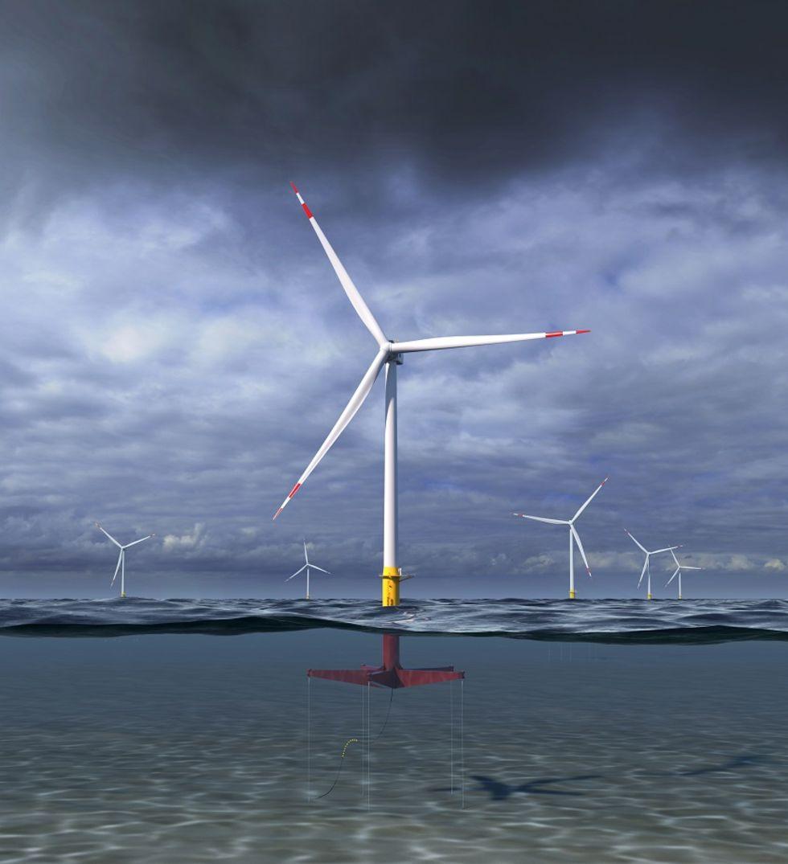 GE vill bygga flytande vindkraftverk