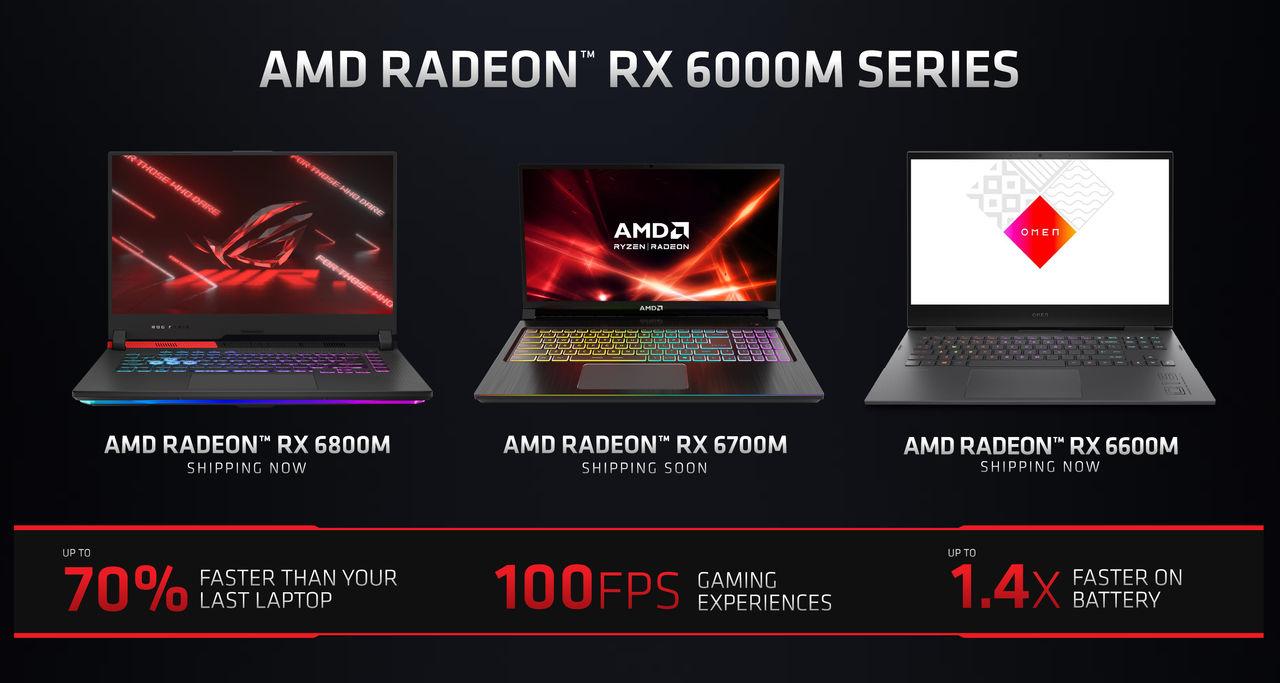 AMD presenterar grafikchipp för laptops