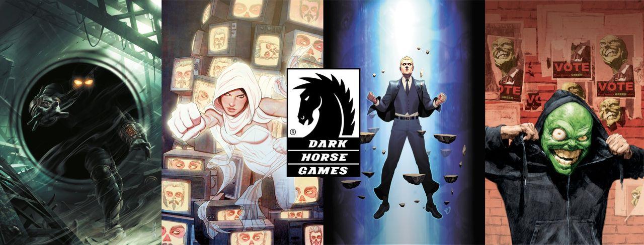 Dark Horse Comics startar speldivision