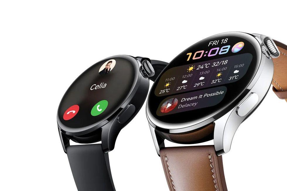 Huawei presenterar nya Watch 3 och 3 Pro