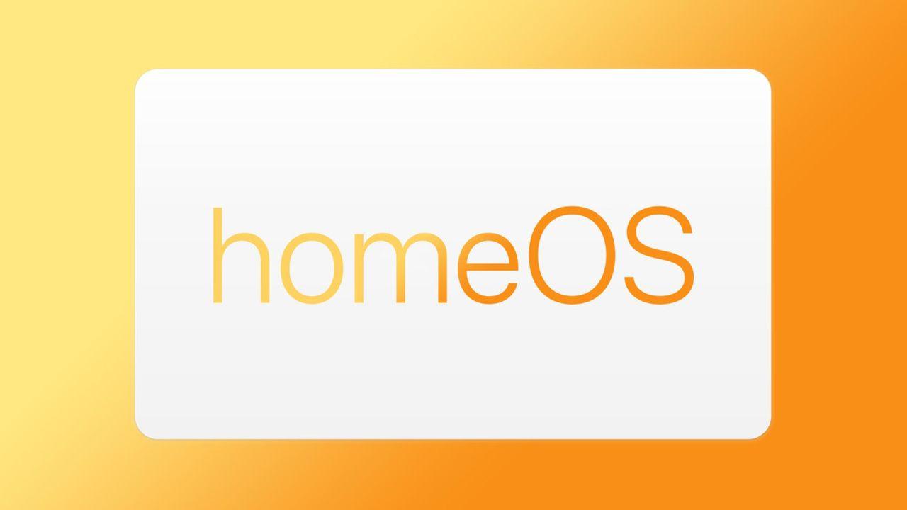 Är homeOS ett nytt operativsystem från Apple?