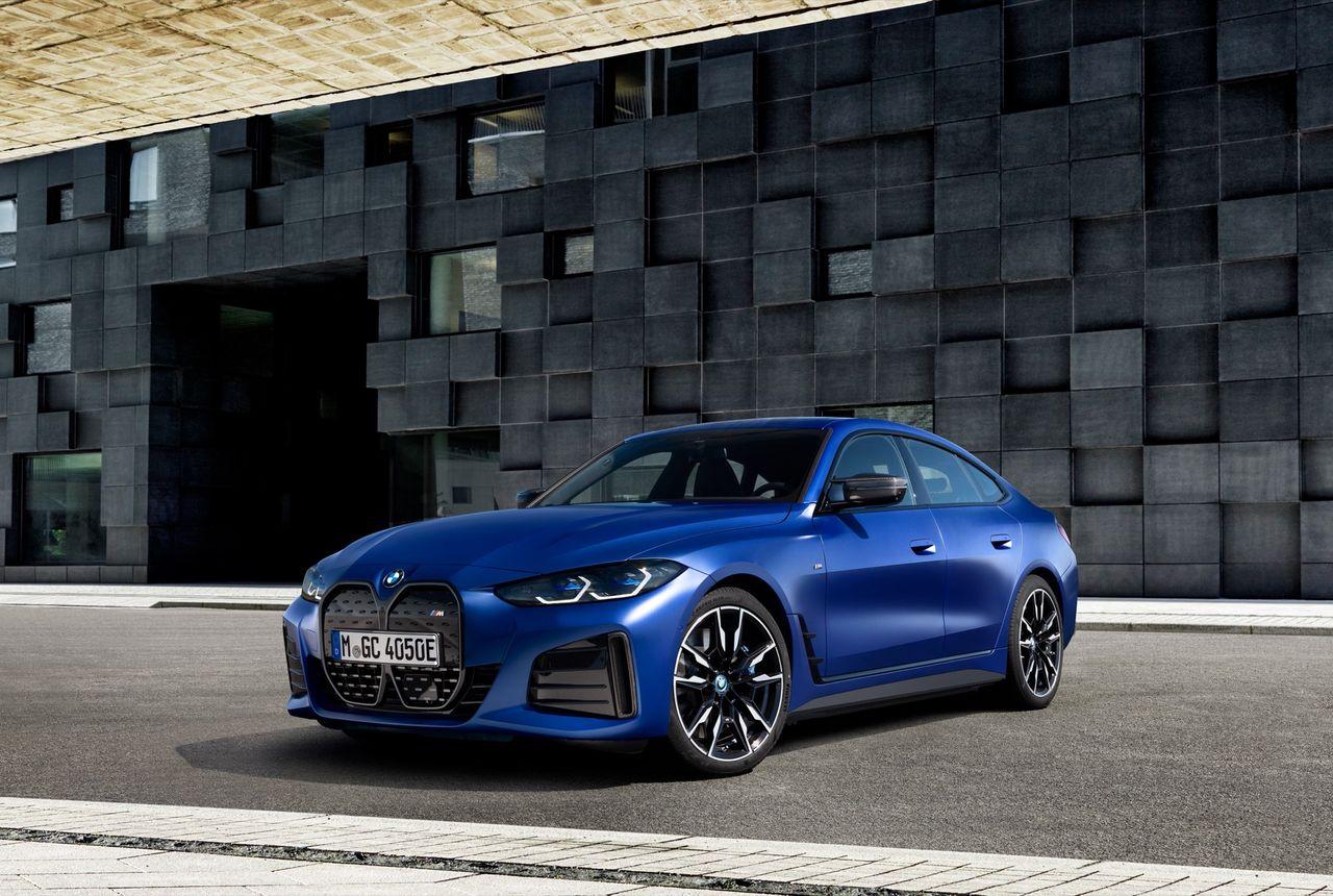 Det här är helt elektriska BMW i4