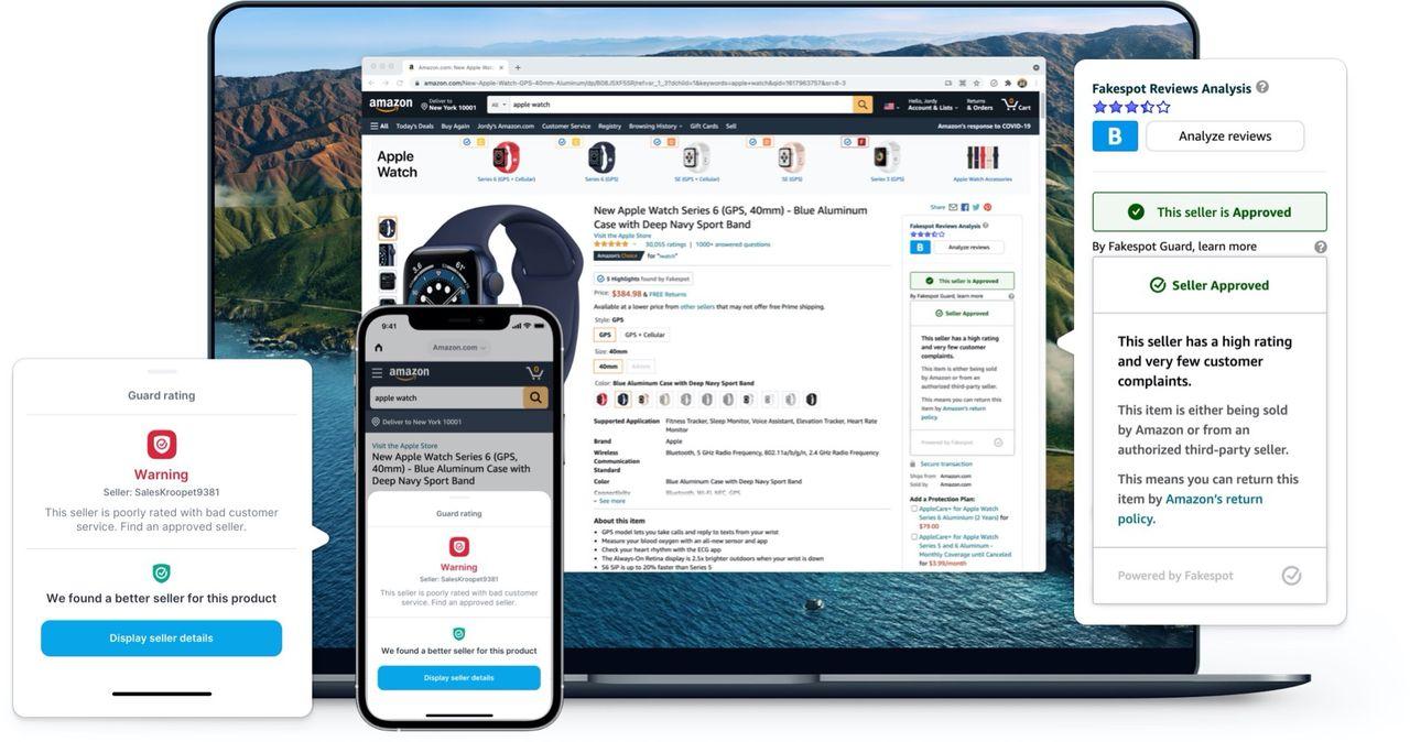 Fakespot är en app som gör e-handlandet lite säkrare