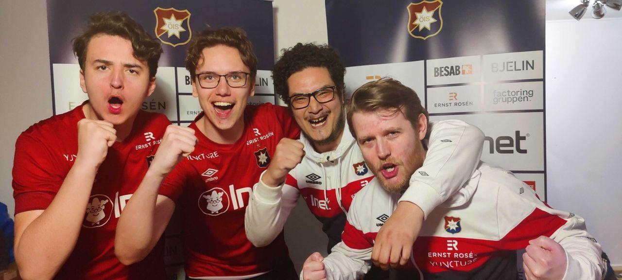 Örgryte vinner eAllsvenskan för andra året i rad