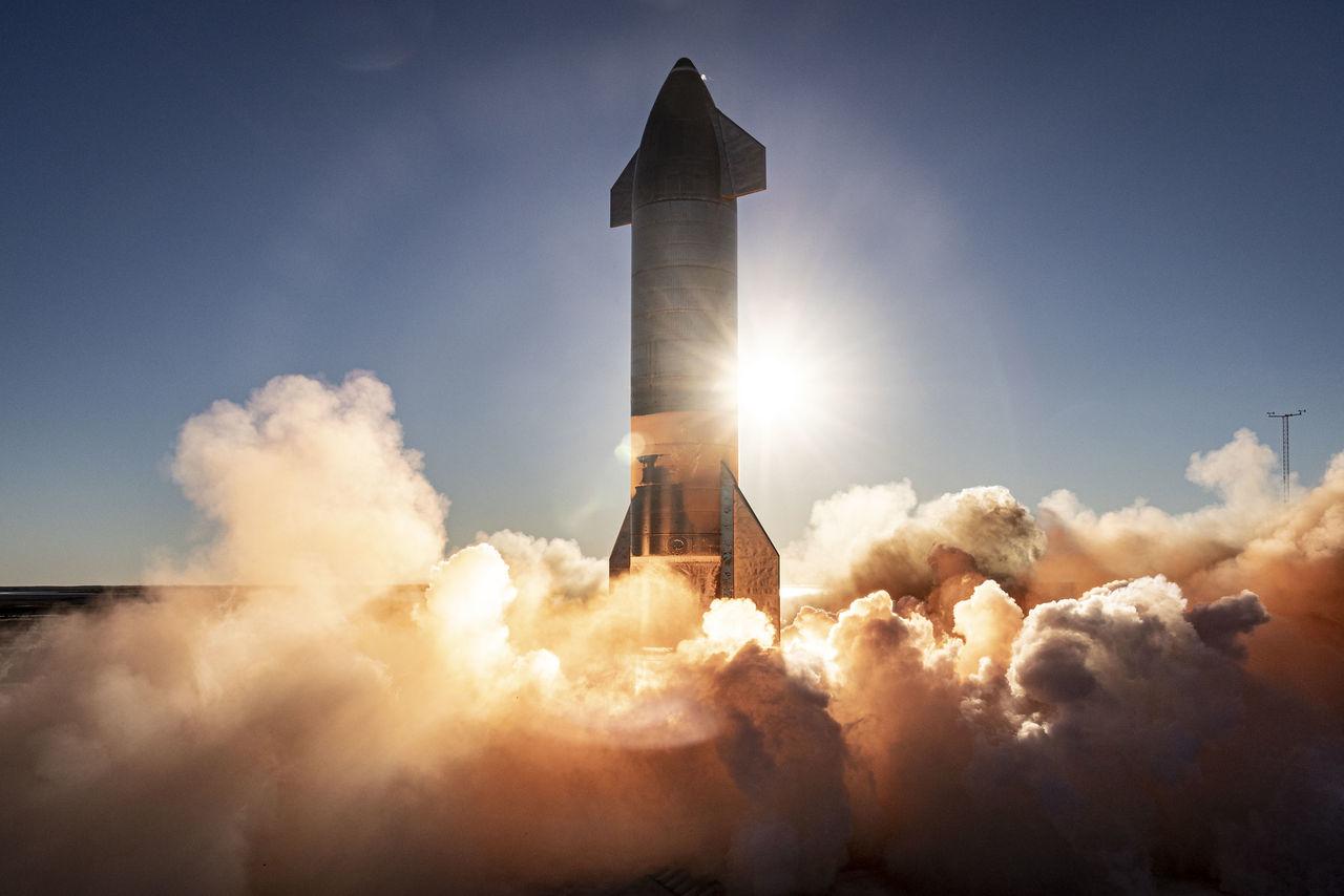 US Air Force vill använda rymdraketer för transporter på jorden