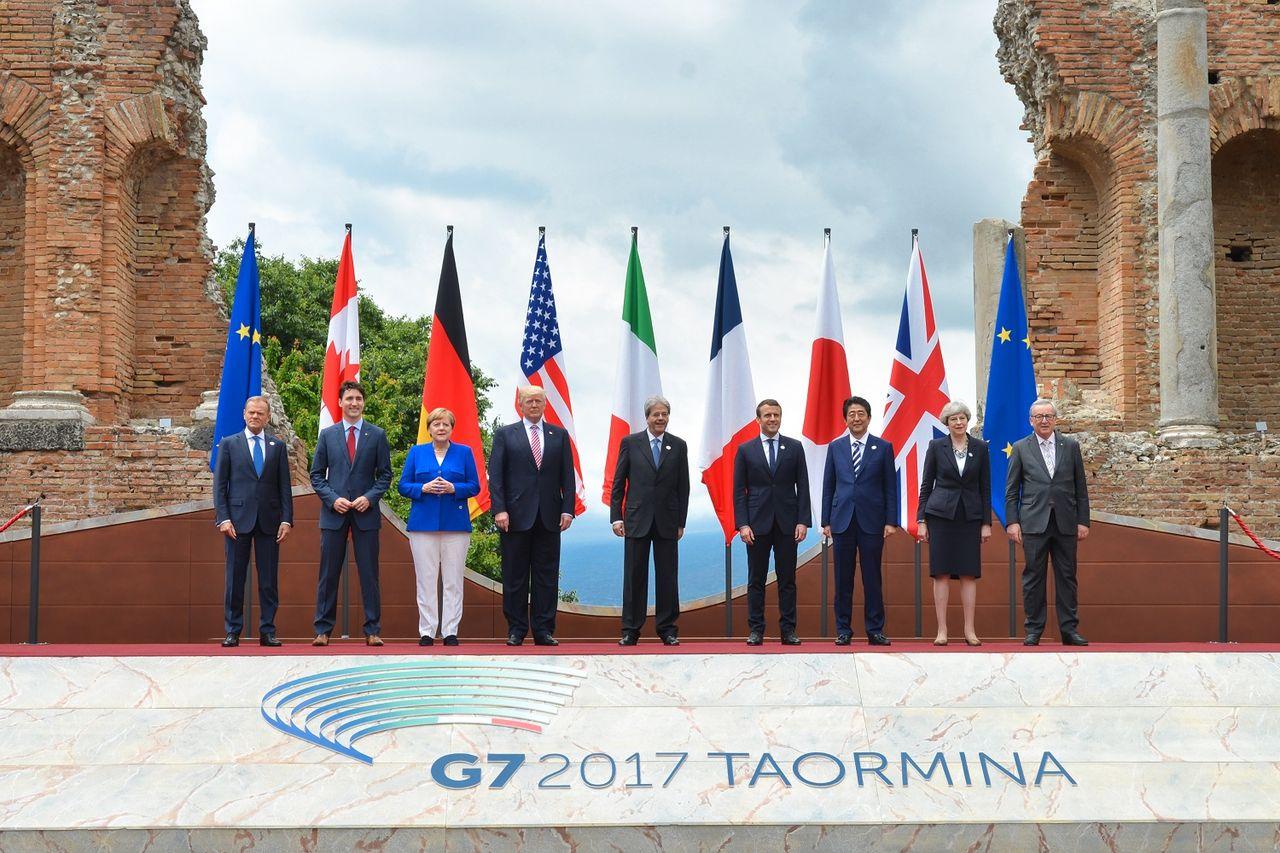 G7 kommer överens om ny företagsskatt