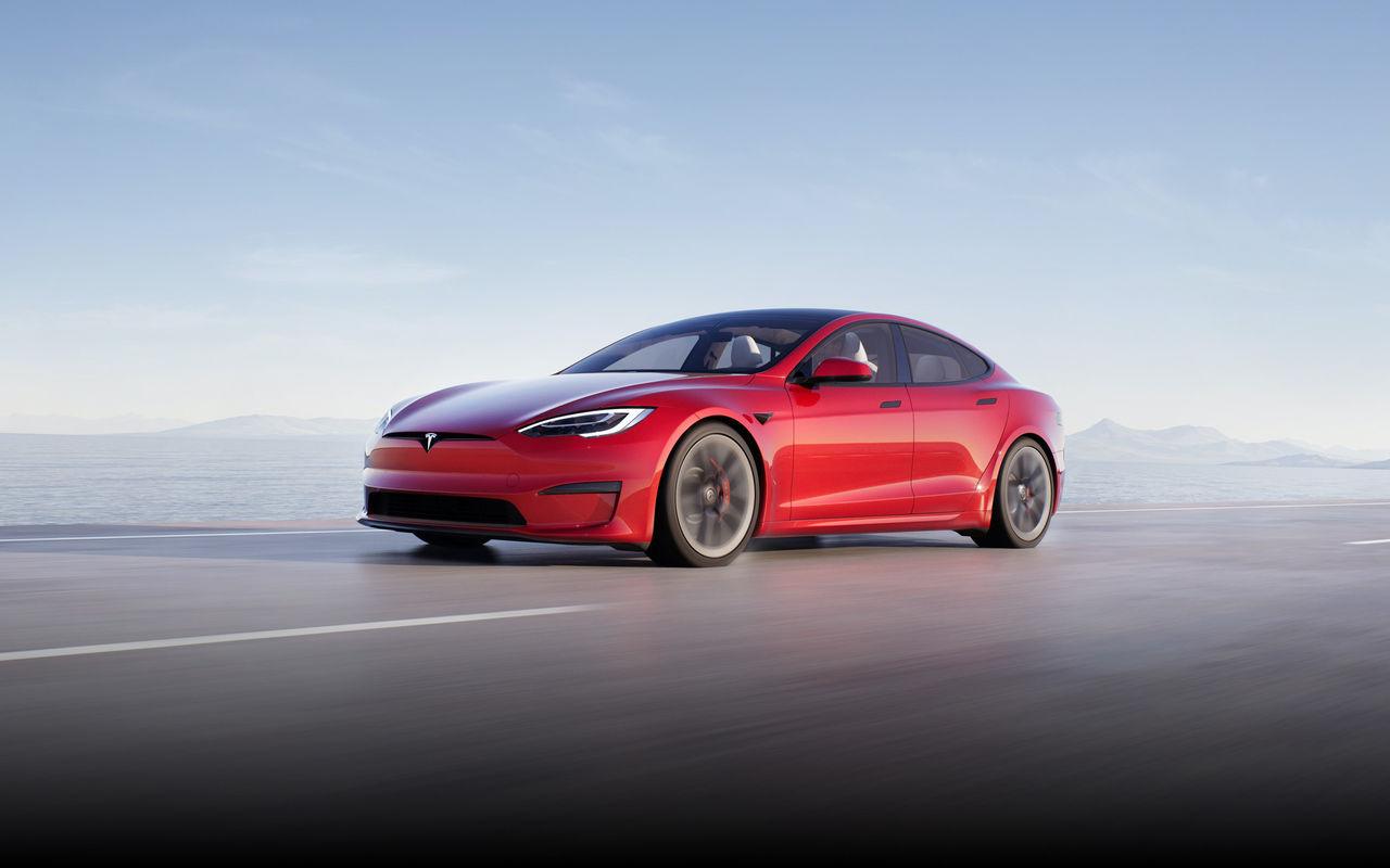Tesla skrotar Model S Plaid+