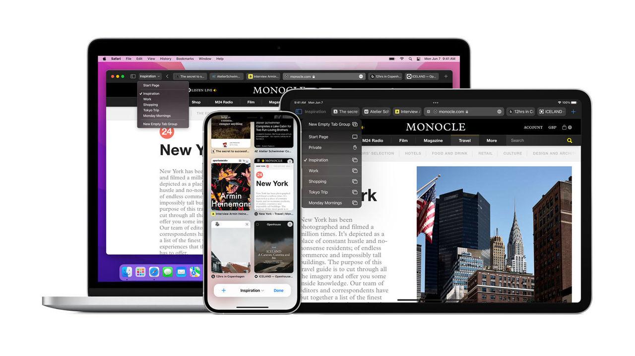 Safari får en stor uppdatering