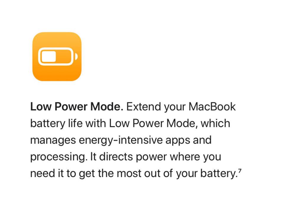 MacBooks får bättre energihantering