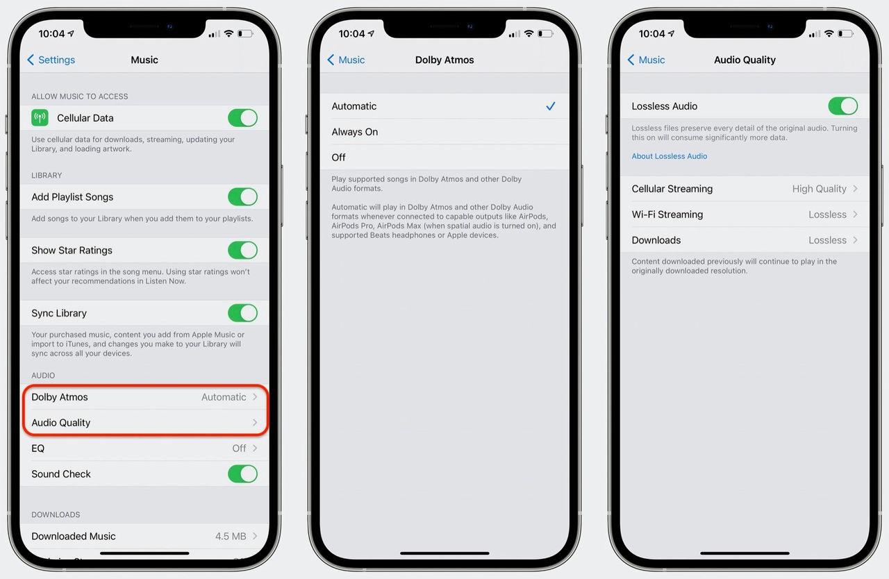 Apple Music har nu aktiverat högupplöst och spatialt ljud