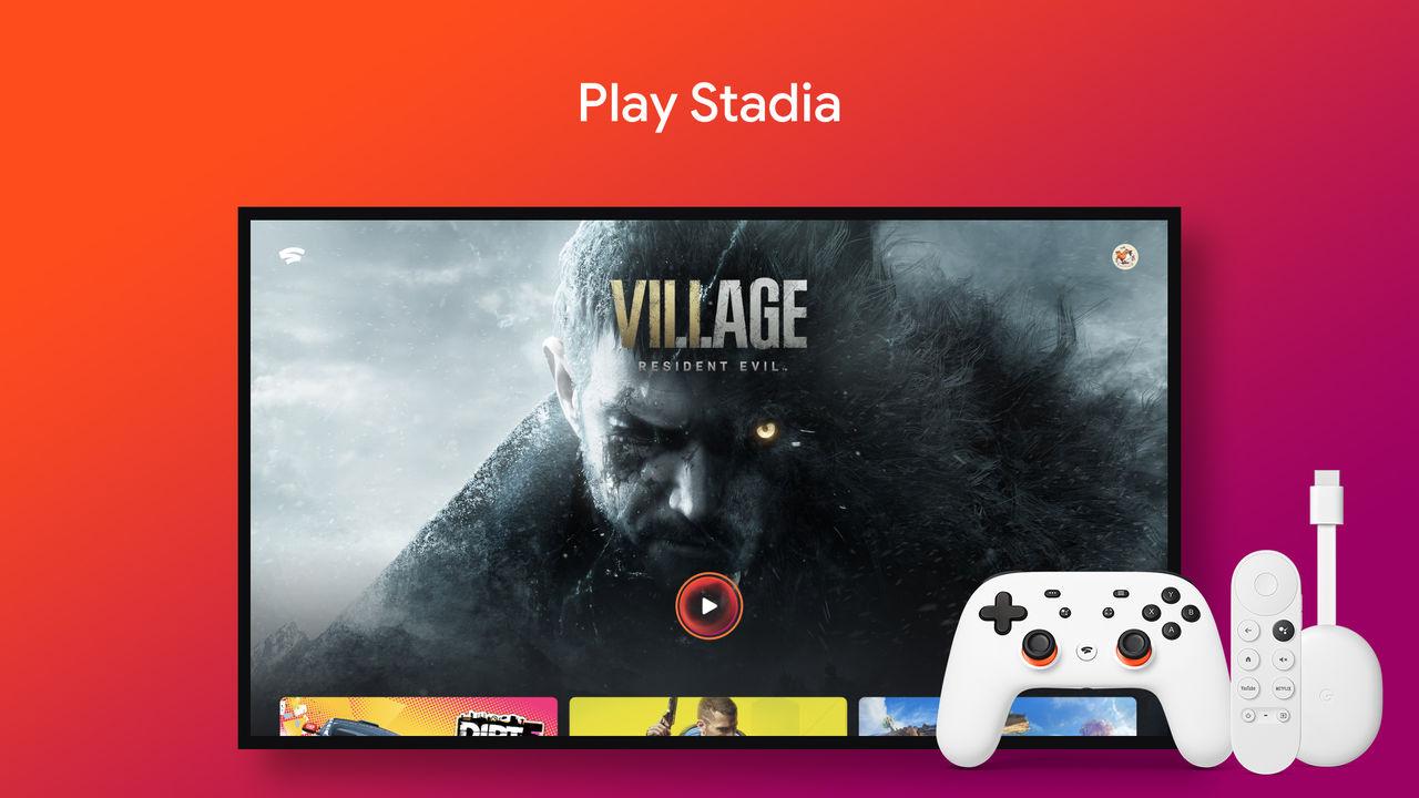 Stadia stödjer snart Chromecast med Android TV