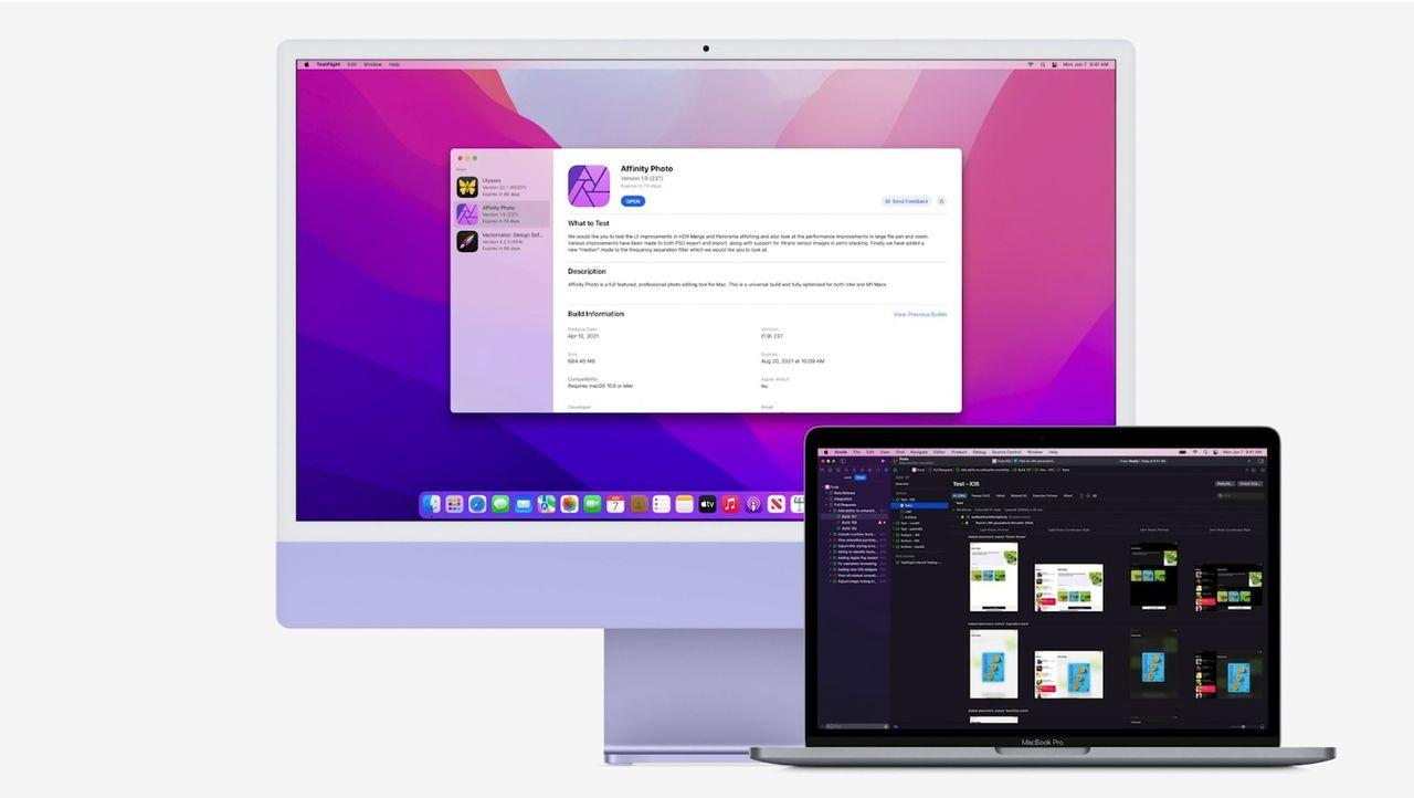 Apples Testflight kommer till macOS