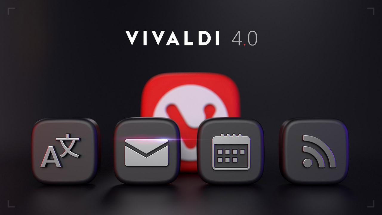 Webbläsaren Vivaldi släpps i version 4.0